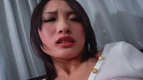 Slutty asian MILF gets her pussy creampied after sizzling gangbang action  1646755