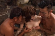 Japan blowjob in group action for Yui Uehara Photo 10