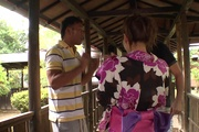 Japan blowjob in group action for Yui Uehara Photo 1