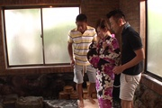 Japan blowjob in group action for Yui Uehara Photo 3