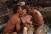 Japan blowjob in group action for Yui Uehara Photo 8
