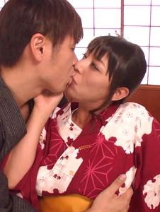 Ryoko Murakami - Asian giving blowjob in pure hardcore show - Screenshot 1