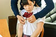 Asian schoolgirl goes nasty on teacher's dick Photo 1