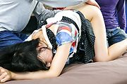 Teen Nozomi Hazuki Gets DPed And Pussy Creampied Photo 3