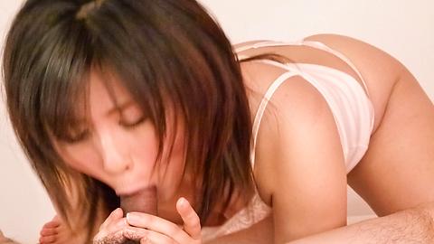Kyouka Mizusawa - Kyouka Mizusawa 's gadis Jepang meniup pekerjaan di POV - gambar 6