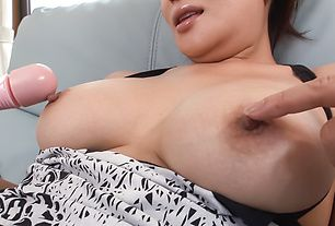 Big tits milf sucks cock until getting all jizzed on face