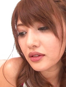 Mei Aso - Cock sucking beauty amazes with her Japan blowjob  -  5 รูปภาพหน้าจอ