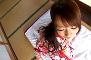 Hitomi Oki amazing hardcore sex with random man  Photo 7