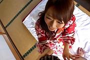 Hitomi Oki amazing hardcore sex with random man  Photo 8
