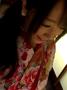 Hitomi Oki - Hitomi Oki fucked in the pussy after Japanese blowjob  - Screenshot 1