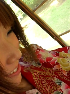 Hitomi Oki - Hitomi Oki fucked in the pussy after Japanese blowjob  - Screenshot 2
