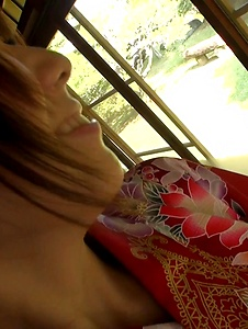 Hitomi Oki - Hitomi Oki fucked in the pussy after Japanese blowjob  - Screenshot 4