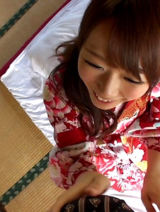 Hitomi Oki - Hitomi Oki fucked in the pussy after Japanese blowjob  - Screenshot 8