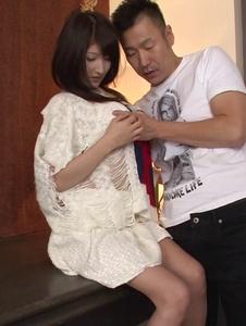Saki Kobashi - Amazing Japan blowjob during a fuck show with Saki Kobashi - Screenshot 6