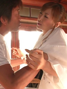 Reira Aisaki - Japan blowjob in advance to a wild fuck session - Screenshot 10