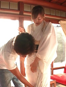 Reira Aisaki - Japan blowjob in advance to a wild fuck session - Screenshot 6