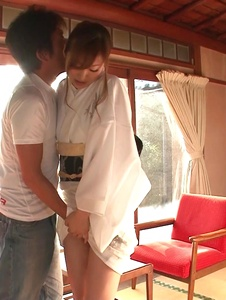 Reira Aisaki - Japan blowjob in advance to a wild fuck session - Screenshot 8