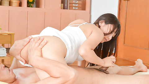 Yu Shinohara - Yu Shinohara sweet ASian girl creampie porn show  - Picture 9