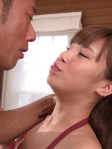 Anna Anjo - Japanese blowjob by housewife, Anna Anjo - Screenshot 6