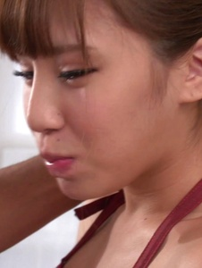 Anna Anjo - Japanese blowjob by housewife, Anna Anjo - Screenshot 7