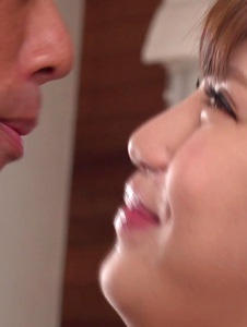 Anna Anjo - Japanese blowjob by housewife, Anna Anjo - Screenshot 8