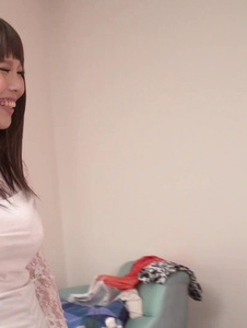 Rion Nishikawa - Full Asan blowjob during babe's hardcore session  - Screenshot 2