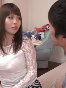 Rion Nishikawa - Full Asan blowjob during babe's hardcore session  - Screenshot 5