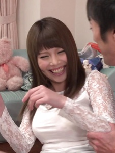 Rion Nishikawa - Full Asan blowjob during babe's hardcore session  - Screenshot 7