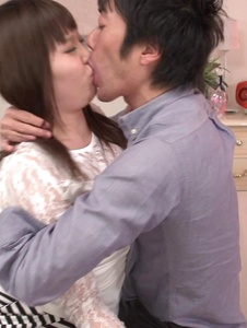 Rion Nishikawa - Full Asan blowjob during babe's hardcore session  - Screenshot 8
