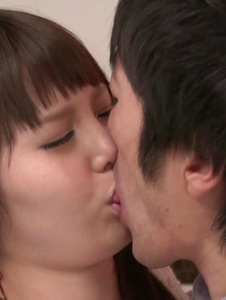 Rion Nishikawa - Full Asan blowjob during babe's hardcore session  - Screenshot 9