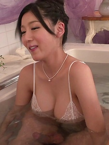 Miho Ichiki - Miho Ichiki deals cock in each of her cremy holes  - Screenshot 7