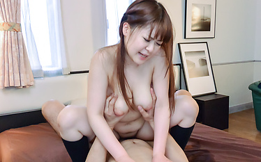 Asian schoolgirl gets naughty and hot  in class