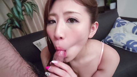 Mai Kamio amazes with full Asian blowjob