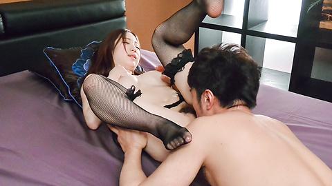 Momoka Sakai - Momoka Sakai fucked and made to suck cock hard  - Picture 8