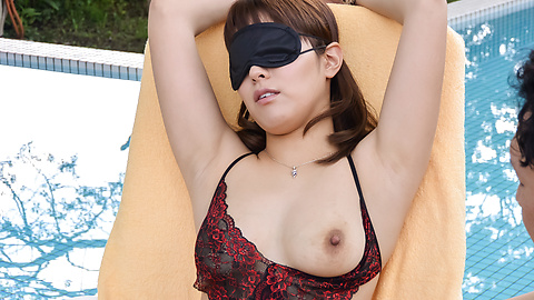 Riho Mikami - Riho Mikami gets hard fucked in outdoor scenes  - Picture 11
