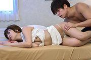 Kinky Japanese av wife cheats with younger man  Photo 2