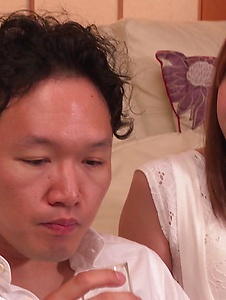 Yui Hatano - Naked Yui Hatano applies Japan blowjob on a big dick - Screenshot 3