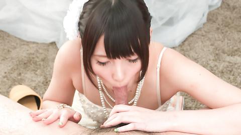 Mihono - Nude Mihono sucks cock in perfect POV modes  - Picture 12