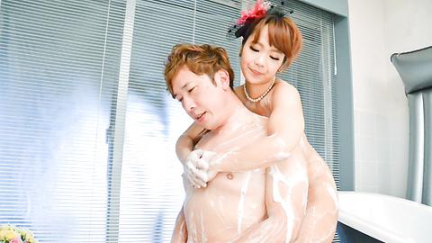 Anju Akane - 丰满的遂宁市安居相马茜完整的日本色情在浴缸 - 图片 11