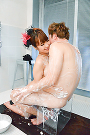 Anju Akane - Busty Anju Akane complete Japan porn in the tub  - Picture 7