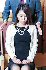Miki Aimoto - Spicy office milf, Miki Aimoto, Asian amateur porn on cam - Picture 10
