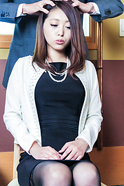 Miki Aimoto - Spicy office milf, Miki Aimoto, Asian amateur porn on cam - Picture 8