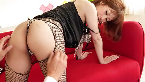 Tiara Ayase - Hot asian blow job and pussy creampie with Tiara Ayase - Picture 4
