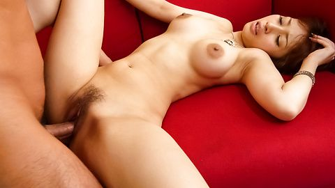 Hot asian blow job and pussy creampie with Tiara Ayase