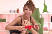 Ryo Akanishi amazes with her asian blowjob show  Photo 3