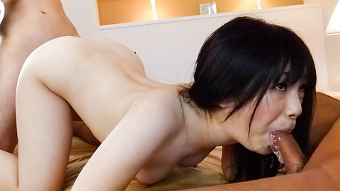 Hina Maeda's Pussy Drips Cum After Her Threesome