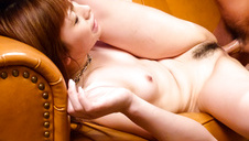 M Sanae endures sex and a full Japanese creampie