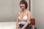 Tight Asian milf roughly fucked by younger hunk  Photo 1