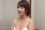 Tight Asian milf roughly fucked by younger hunk  Photo 5
