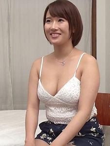 Harua Narimiya - Busty female hard fucked and jizzed on tits - Screenshot 1
